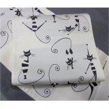 袋帯・仕立共・シャレ向・白地ねこ・猫柄(2)